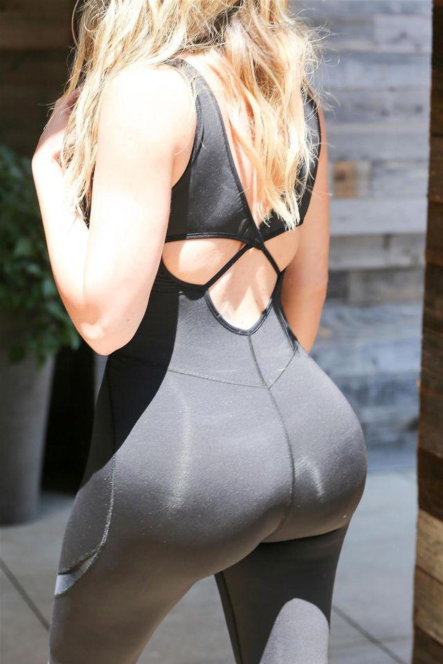Seksowna pupa Khloe Kardashian