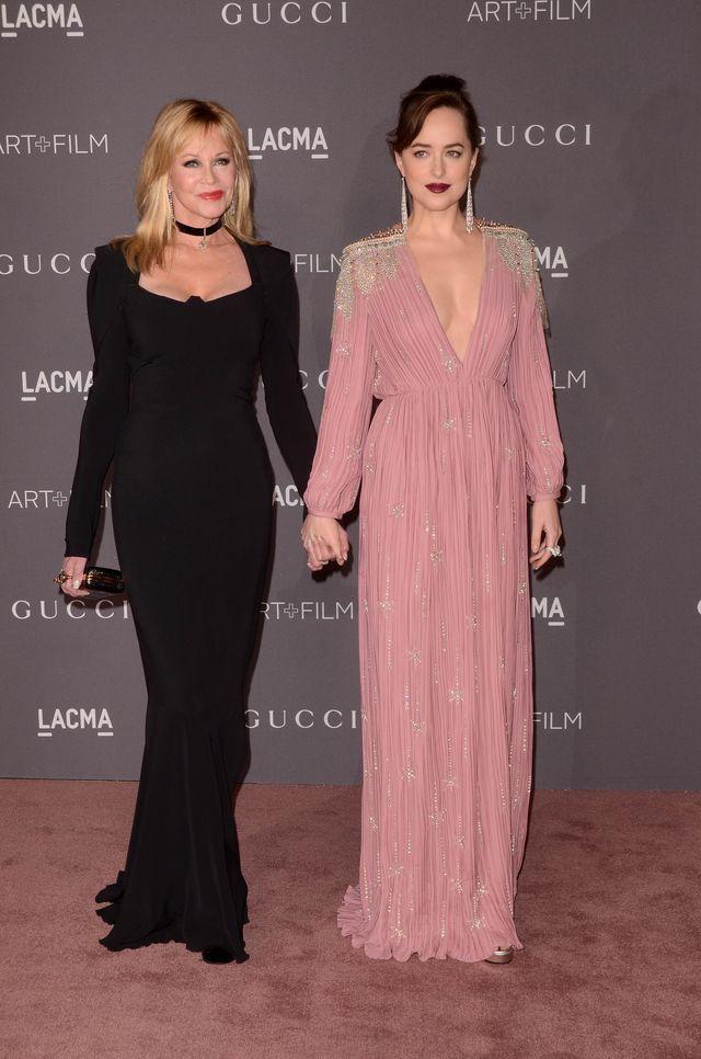 Dakota Johnson na gali LACMA 2017