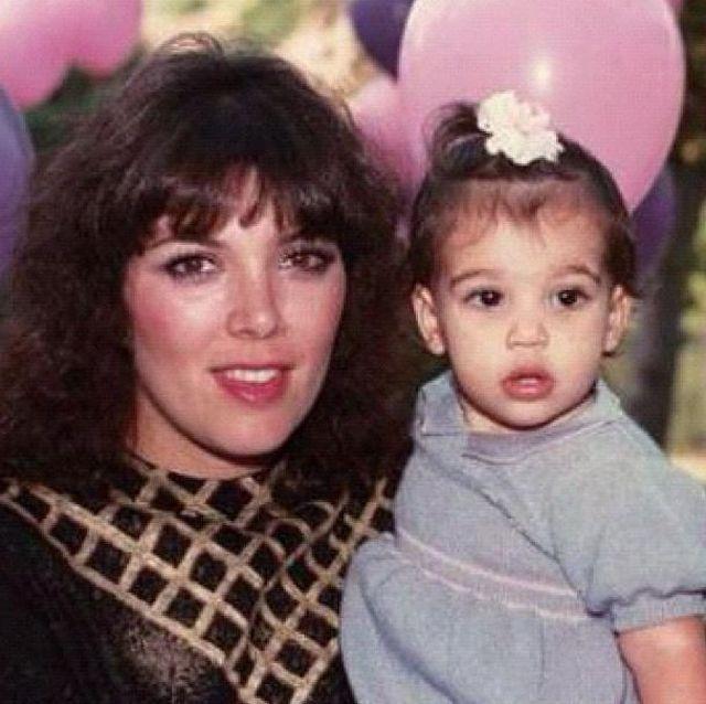 Kim Kardashian w dzieciństwie