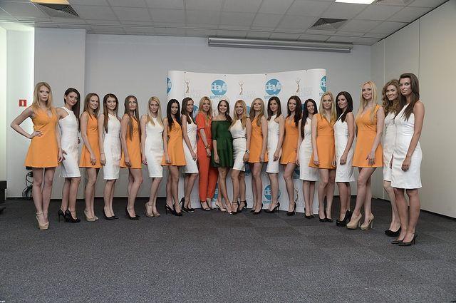 Spotkanie z finalistkami konkursu Miss Polonia 2014
