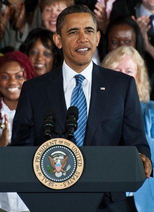 Barack Obama śpiewa [VIDEO]