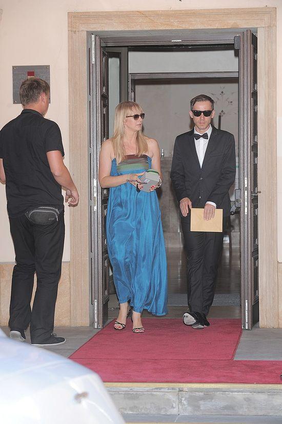 Goście na ślubie Katarzyny Zielińskiej