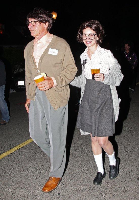 Harrison Ford i Calista Flockhart świętują Halloween