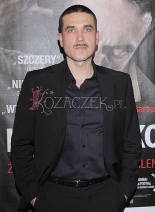 Marcin Dorociński zapuścił wąsy (FOTO)