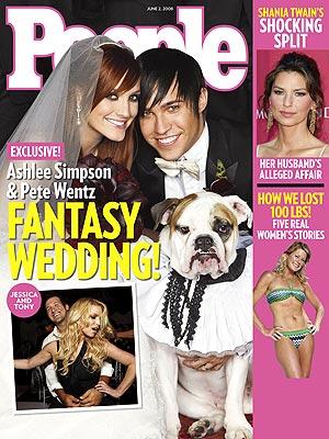 Dlaczego Jessica i Tony byli razem na weselu Ashlee?