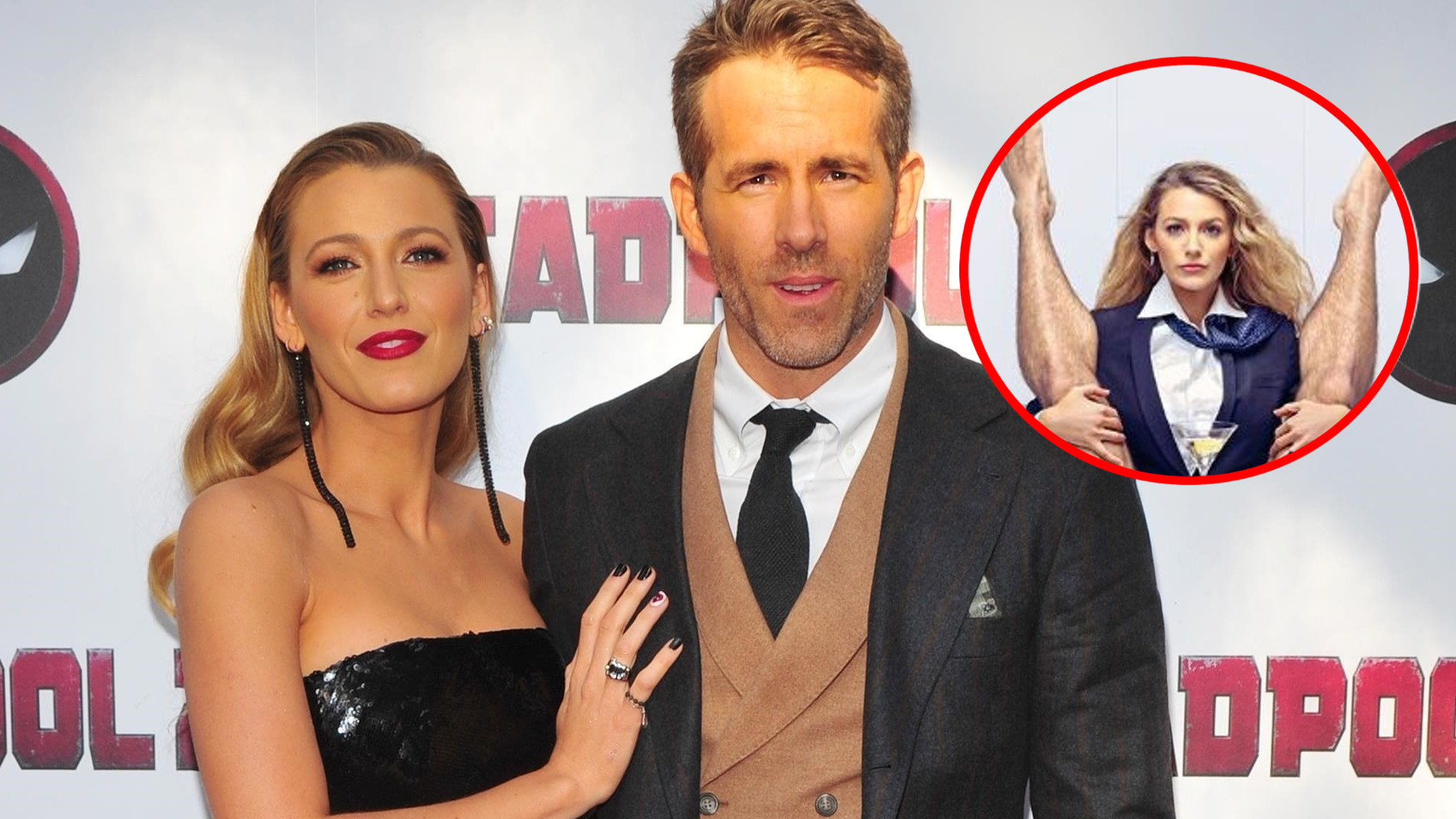 Blake Lively między nogami przystojnego modela – jej facet komentuje zdjęcie