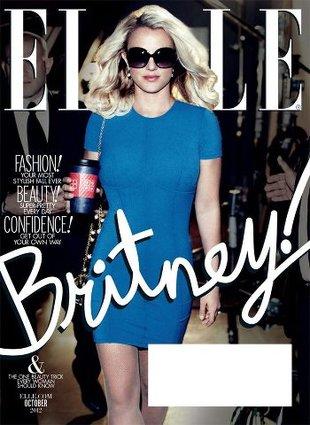Britney Spears wraca na 2 okładkach Elle (FOTO)
