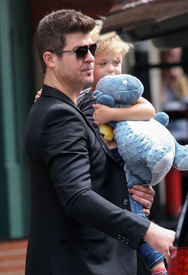 Robin Thicke z synem Julianem