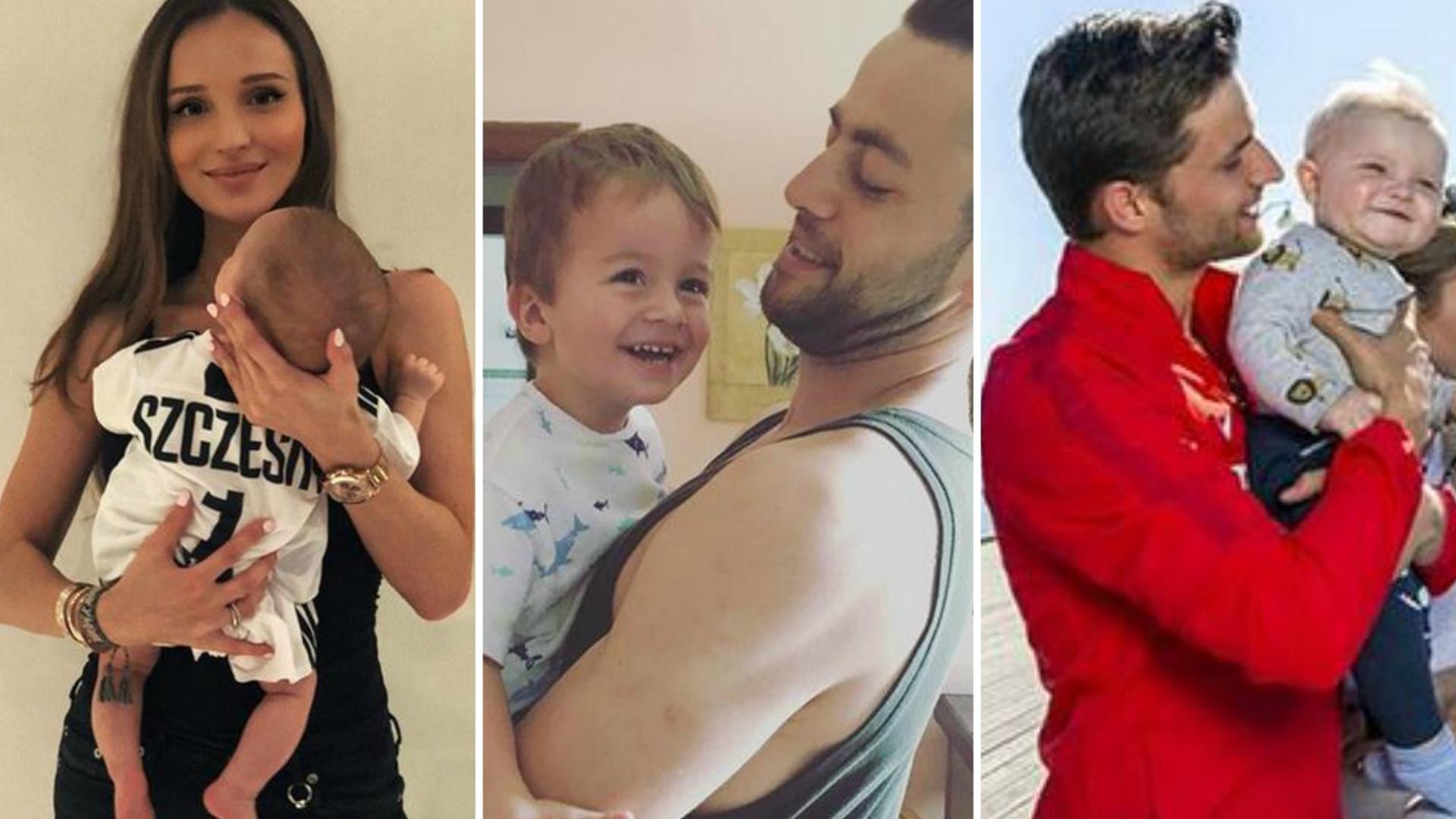 Dzieci polskich piłkarzy – wiedzieliście, że są TAKIMI tatusiami? (ZDJĘCIA)