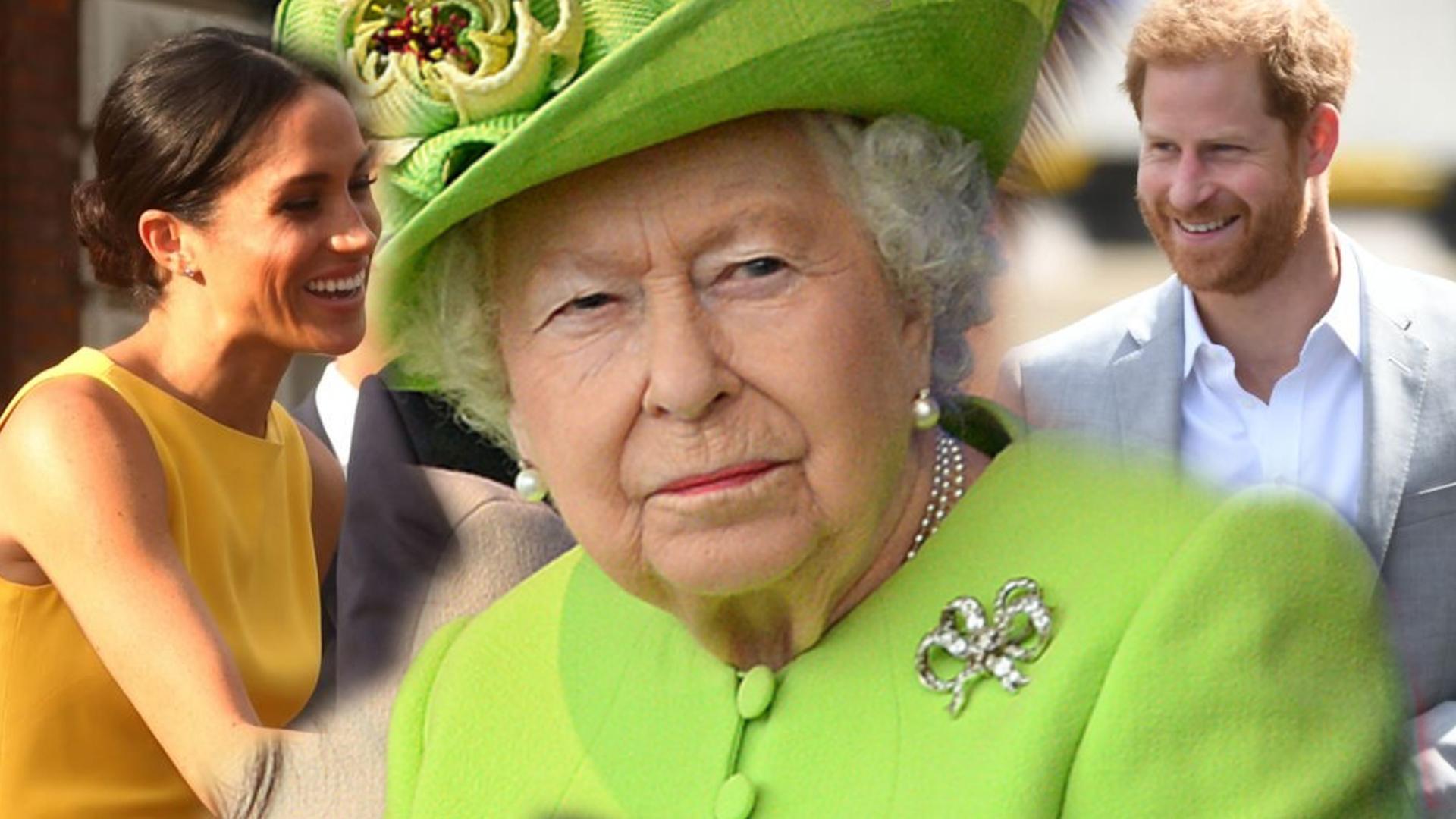 Elżbieta II faworyzuje Meghan i księcia Harry'ego! Podarowała im COŚ wyjątkowego