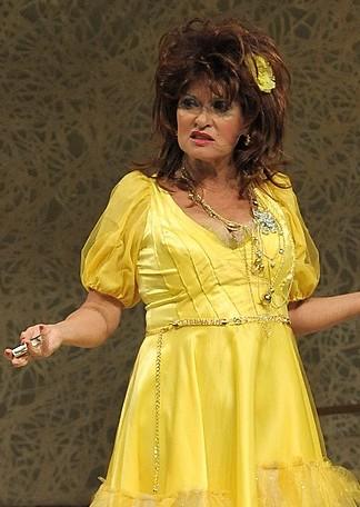 Pokazała majtki na próbie w teatrze (FOTO)