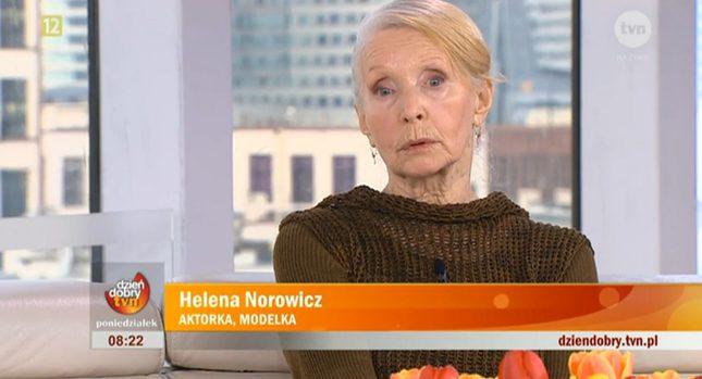 80-letnia Helena Norowicz zadebiutowała jako modelka (FOTO)