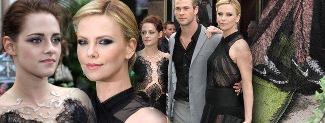 Zjawiskowe Theron i Stewart na premierze  (FOTO)