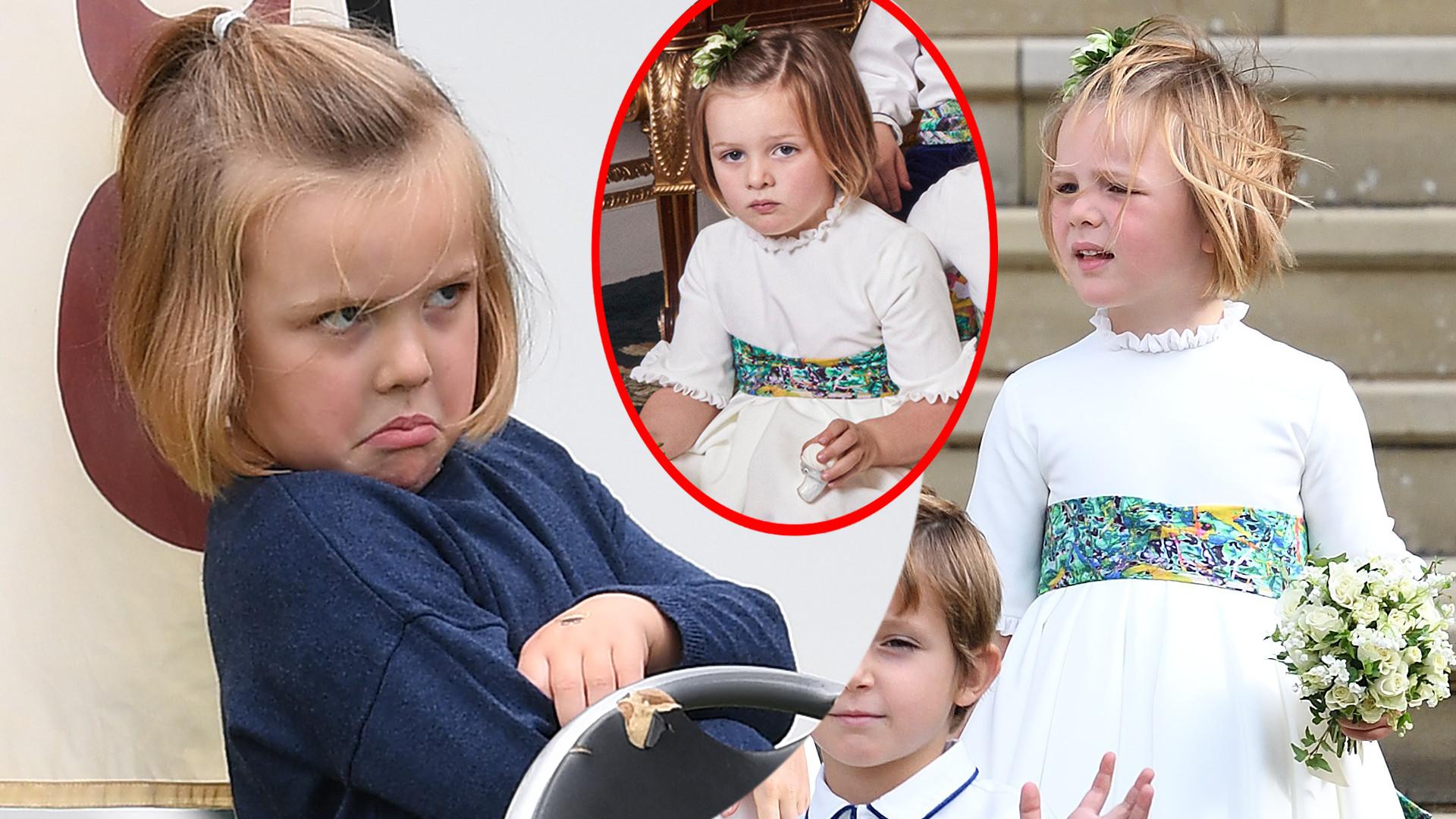 Mia Tindall bohaterką zdjęcia ślubnego księżniczki Eugenii – co trzyma w ręce?