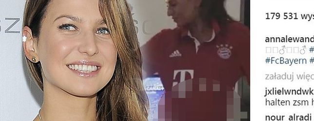 Na krótko przed porodem Lewandowska pokazała swój BRZUSZEK w całej okazałości