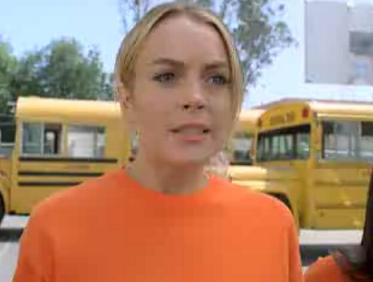 Lindsay Lohan w Ugly Betty