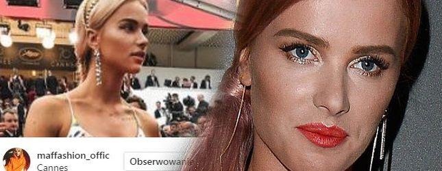 GENIALNY look Maffashion na czerwonym dywanie w Cannes (ZDJĘCIA)