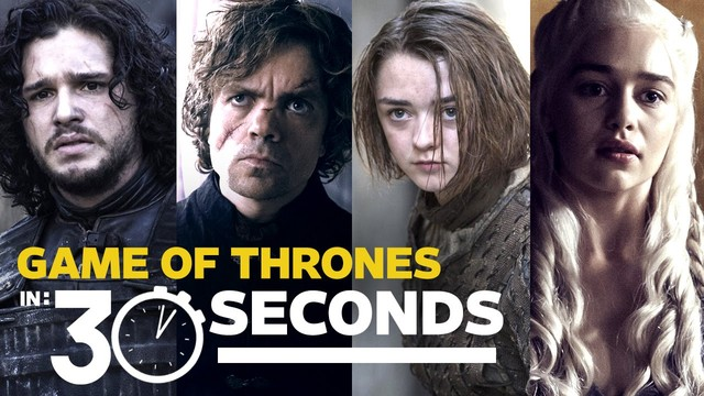 Gra o Tron w 30 sekund (VIDEO)