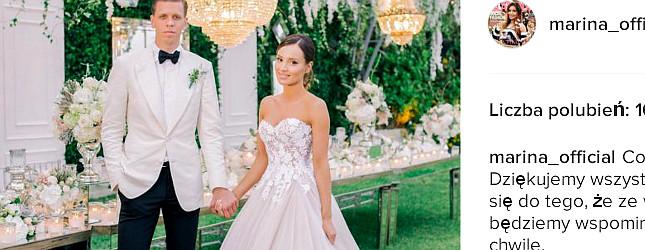Wiemy, kto zaprojektował suknię ślubną Mariny Łuczenko-Szczęsnej