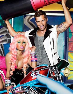 Nicki Minaj i Ricky Martin razem w reklamie… szminki (FOTO