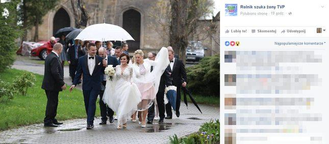 Są nowe zdjęcia ze ślubu Ani i Grześka z Rolnik szuka żony