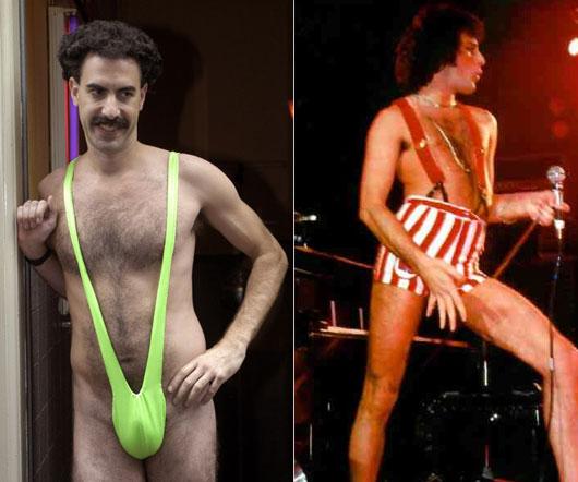 Borat i Freddie Mercury