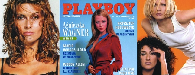 10 okładek Playboya z lat 90. (FOTO)