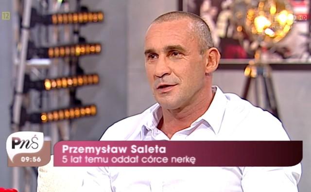 Nicole, córka Przemysława Salety, potrzebuje nerki