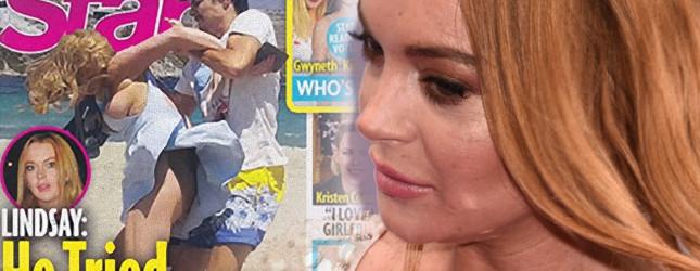 SZARPANINA Lindsay Lohan i jej narzeczonego została uwieczniona na zdjęciu!