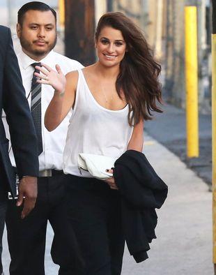 Lea Michele jest zaręczona?