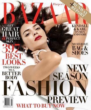 Kendall Jenner w najnowszym Harper's Bazaar. Zdjęcia wykonał… Karl Lagerfeld!