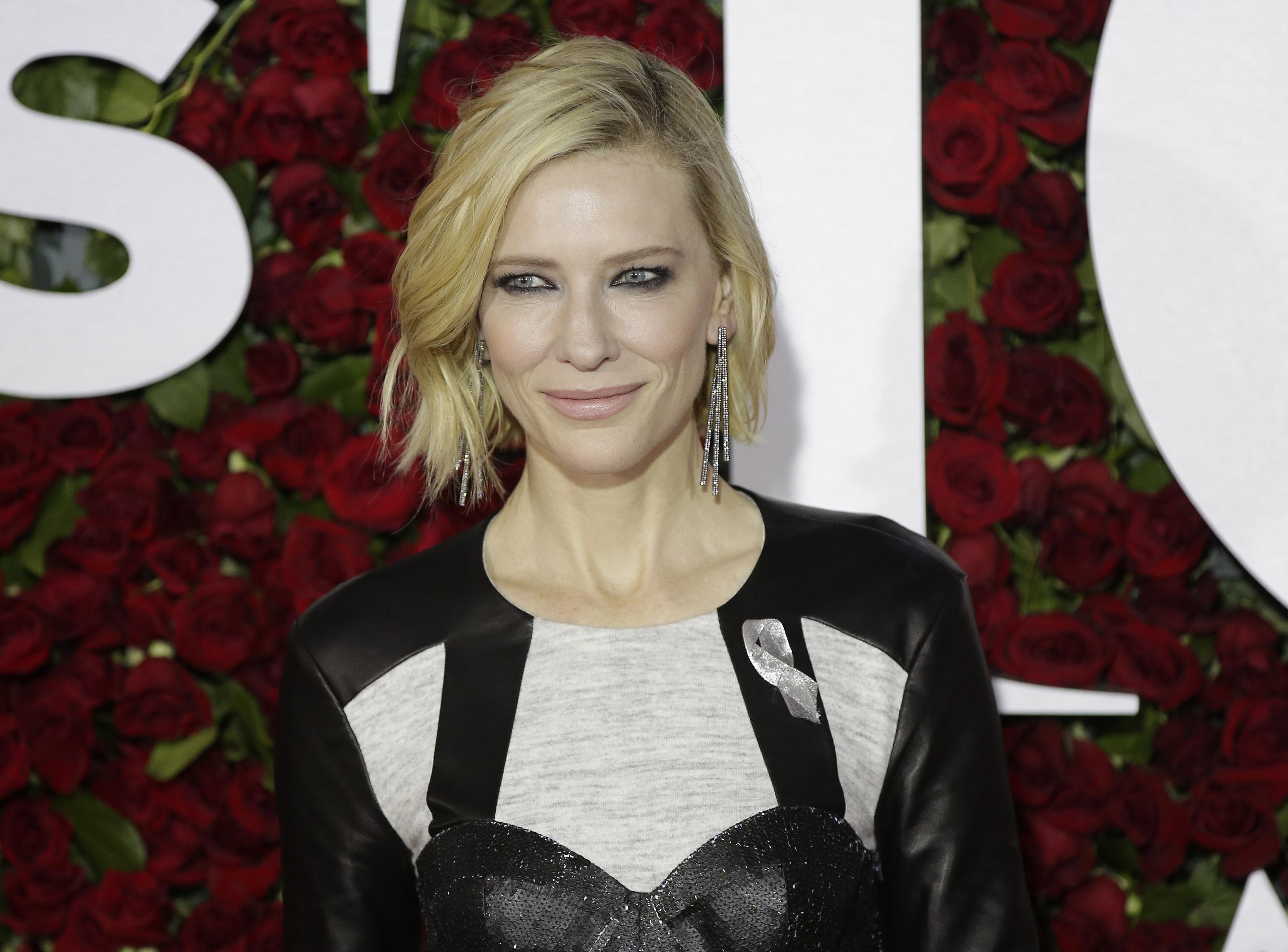 Cate Blanchett pokazała… penisa Donalda Trumpa u Jimmy'ego Fallona?!