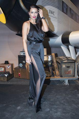 Chora Adriana Lima pokazała się bez make-upu