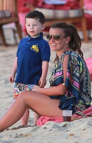 Coleen Rooney wyprowadziła 4-letniego synka z sypialni