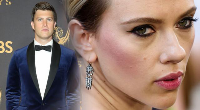 Pierwsze zgrzyty na linii Scarlett Johansson-Colin Jost