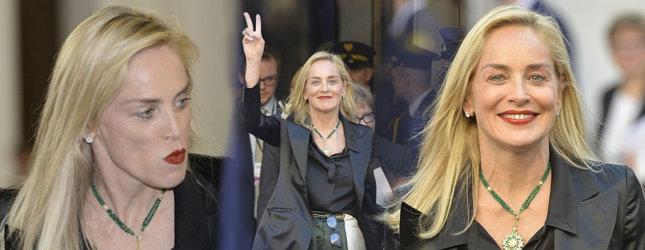 Sharon Stone w polskim Sejmie (FOTO)