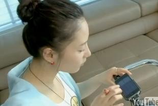 Grająca na iPhone'ach Kim Yeo-hee robi karierę [VIDEO]