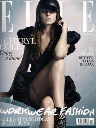 Cheryl Cole usuwa tatuaż z szyi