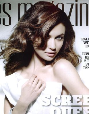Dziewczyna Bonda w magazynie ES (FOTO)