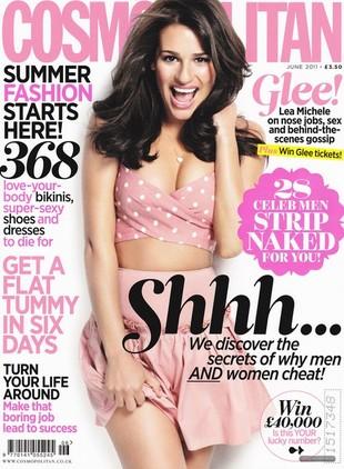 Lea Michele seksowna w Cosmopolitan (FOTO)