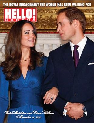 Książę William i Kate Middleton jako zabawki