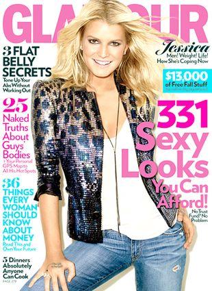 Jessica Simpson w Glamour: Nie żałuję niczego