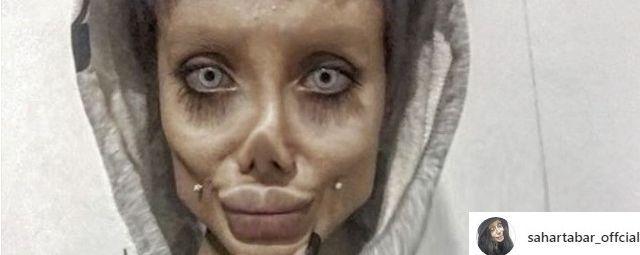 Angelina Zombie to był Fake! Dałeś się nabrać Sahar Tabar!