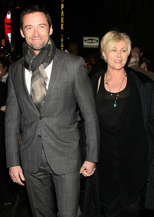 Hugh Jackman z żoną (FOTO)