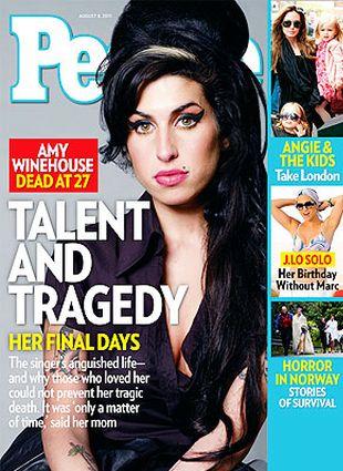 Amy Winehouse na okładce People (FOTO)