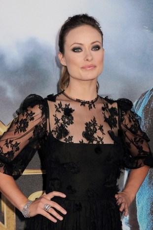 Olivia Wilde w czarnej koronce (FOTO)