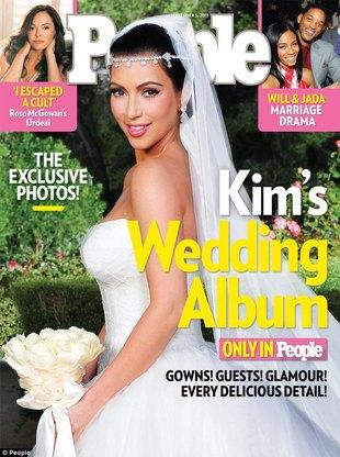 Kim Kardashian na okładce People (FOTO)