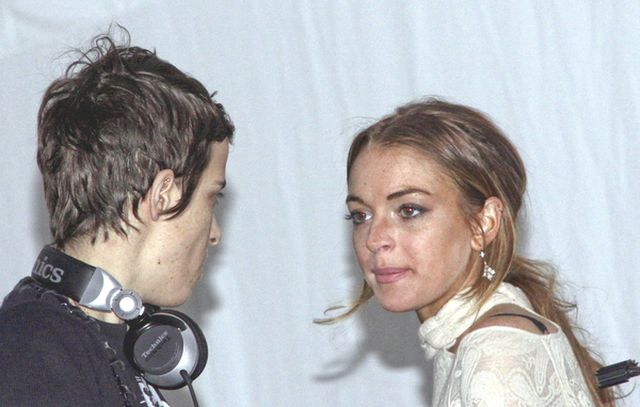 Lindsay Lohan pije z matką