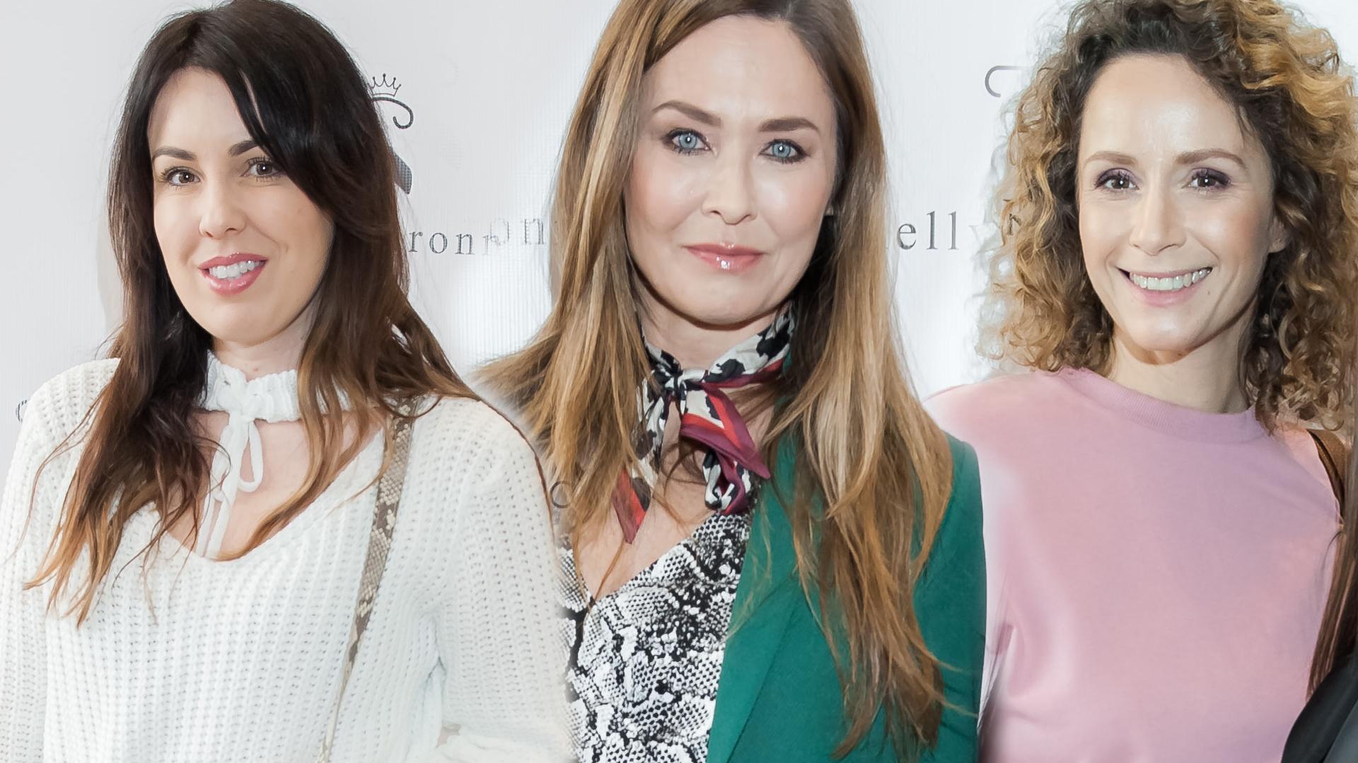 Eliza Gwiazda, Dorota Naruszewicz i inni na otwarciu butiku Kelly Couronne