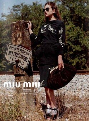 Reklama Miu Miu z Hailee Setinfeld zakazana (FOTO)